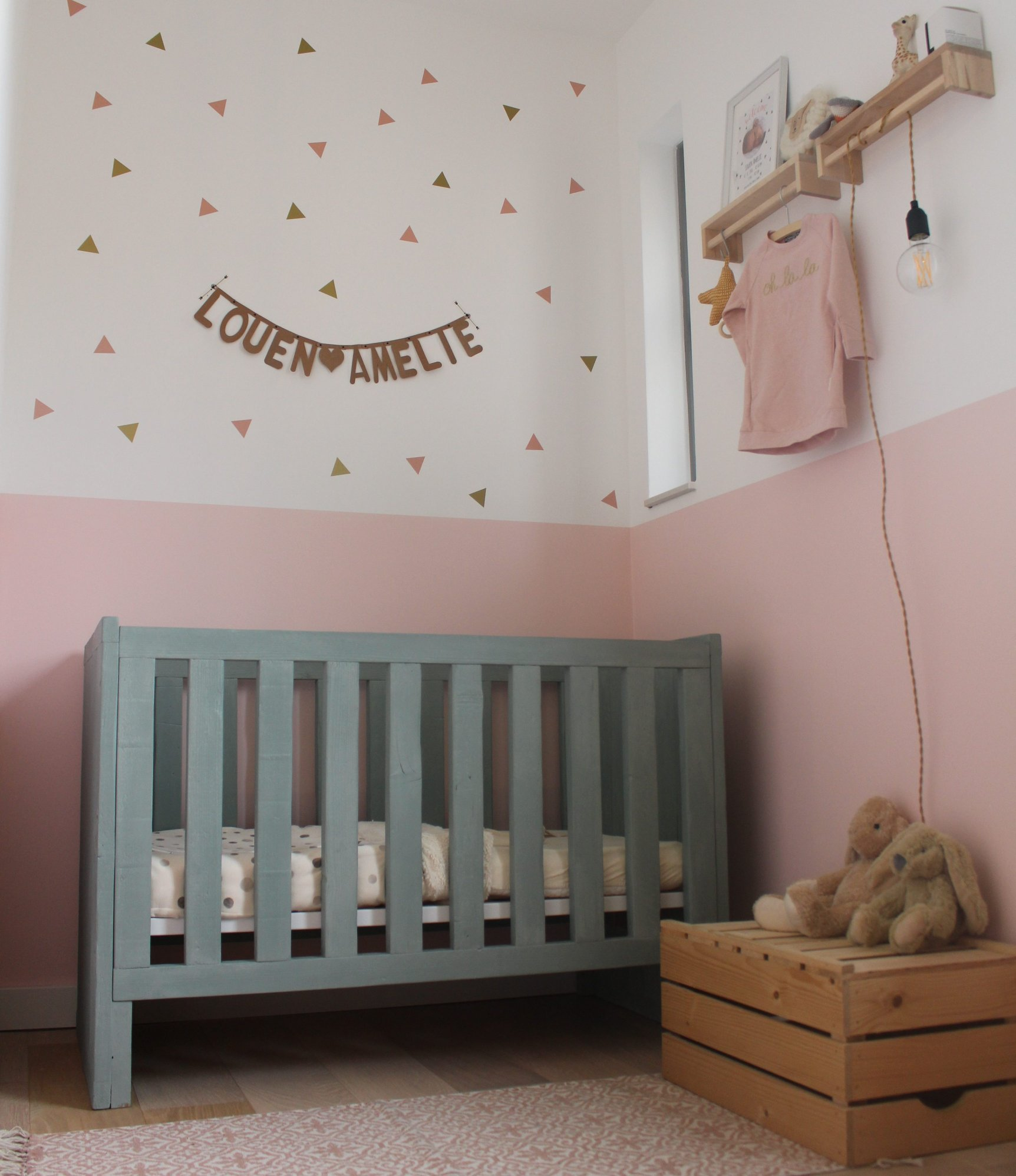 kinderkamer ideeen duurzaam meisjeskamer