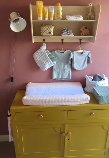 Duurzame Kinderkamer Stylist make-over van badkamer naar duurzame babykamer