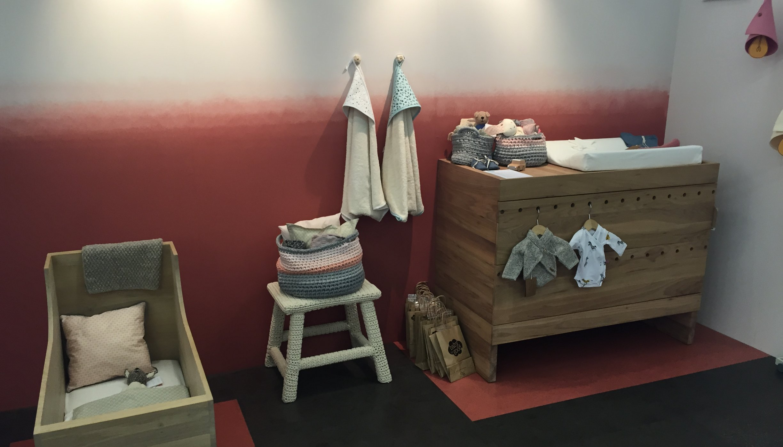 babykamer inspiratie muur ideeen