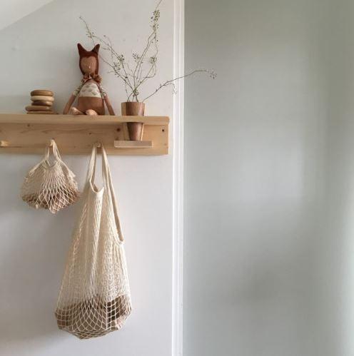 muurdecoratie kinderkamer hout kapstok