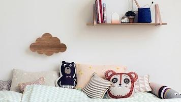Muurdecoratie kinderkamer hout ideeen – top 10
