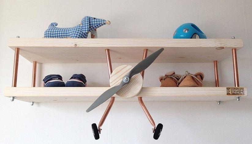 Duurzame Wandplanken Babykamer