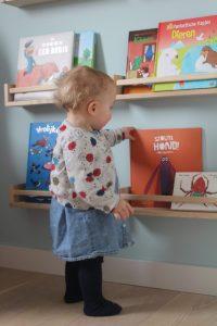 wandplanken babykamer duurzaam kinderboeken