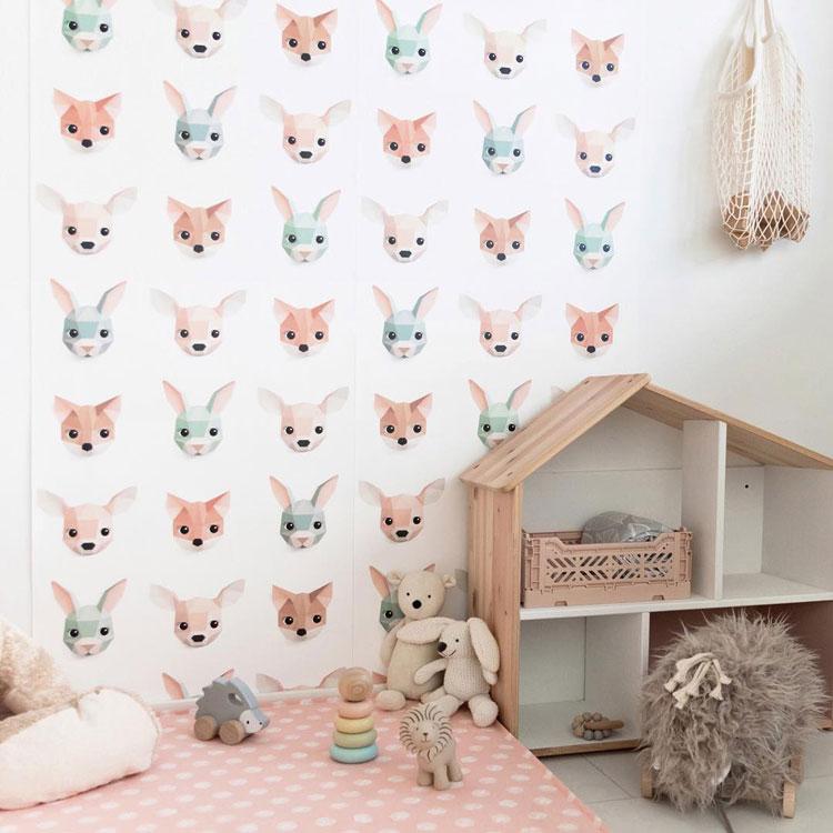 behang voor de kinderkamer studio ditte
